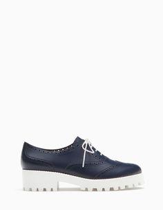 std 30 Sapatos blucher sola track