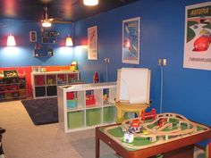 Retro space nursery turned big kid's room for two | Offbeat Families