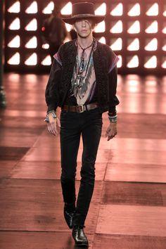 Saint Laurent, spring/summer 2015 menswear