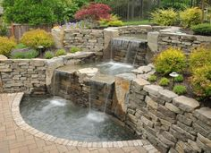 Wicked 30 Most Beautiful Fish Pond With Waterfall To Increase Your Home Yard Beauty https://24homely.com/plants-gardens/30-most-beautiful-fish-pond-with-waterfall-to-increase-your-home-yard-beauty/