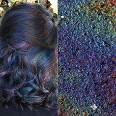 Taylor Rae @bunny_rae Oil slick hair #...Instagram photo | Websta (Webstagram)