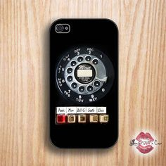Rotary phone retro phone case --