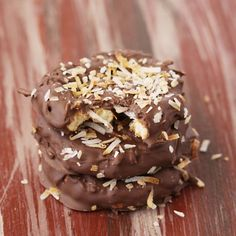 Tons of recipes inspired by Samoa Girl Scout Cookies