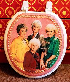 Golden Girls Toilet Seat