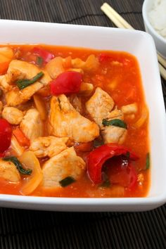 Weight Watchers Crock Pot Sweet Sour Chicken