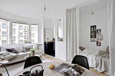 La integración de todos los ambientes de la casa en un solo espacio, conocido como monoambiente, tiene muchas ventajas de diseño. Diseño interior. Expertos. Monoambientes. Decoración. Arquitectura. Espacios.
