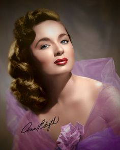 Ann Marie Blyth (born August is an American actress and singer Hollywood Stars, Hollywood Icons, Old Hollywood Glamour, Golden Age Of Hollywood, Hollywood Actor, Vintage Hollywood, Hollywood Actresses, Classic Hollywood, Glamour Hollywoodien