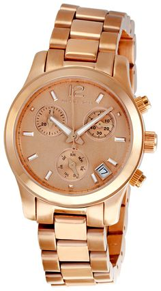 1d13ce61b6ae Michael Kors Women s MK5430 Rose Gold Chronograph Watch Fine Watches