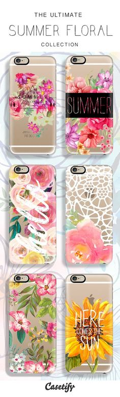 Live it up this summer with our ultimate Summer Collection. Check these gorgeous floral designs here:  http://www.casetify.com/artworks/pIlLXYK1W5