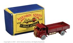 Matchbox Regular Wheels No.20A ERF Dropside Lorry | Vectis Toy Auctions