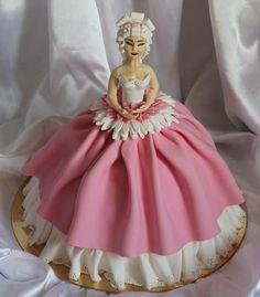 - Bolo Barbie, Barbie Cake, Barbie Dolls, Ultimate Chocolate Cake, Doll Cakes, Dress Cake, Marie Antoinette, Amazing Cakes, Cake Decorating