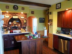 maine home for sale kitchen photo