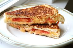 I Thee Cook: Tomato Grilled Cheese