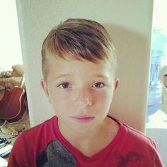 Boys haircut-- mine need a new do!