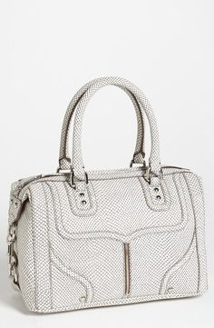 Unique & gorgeous! Rebecca Minkoff Cream Satchel