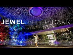 Why not visit Jewel when it's empty and take some nice pictures while you are there. After Dark, Happenings, Singapore, Cool Pictures, Around The Worlds, Jewels, Shit Happens, Youtube, Travel