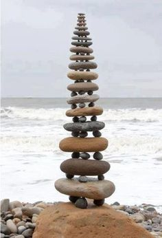 Rock Art - Stacked Tower