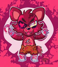 I feel like i wanna hug foxy but at the same time i feel like he's going to kill me...