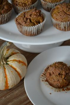 Pumpkin Spice Muffins with Streusel Topping (Gluten-Free and Dairy-Free)
