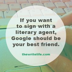 Want to get the attention of a literary agent? Here's what they want to see when they Google you. #pubtip
