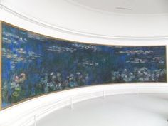 L'Orangerie's  permanent  Monet exhibit in Paris .