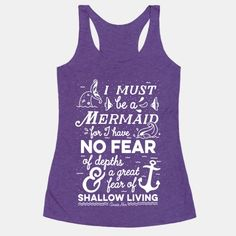 "This nautical typography design is perfect for aspiring mermaids out there who are true to themselves. This inspiring saying comes from from poet and writer Anaïs Nin. ""I must be a mermaid, for I... 
