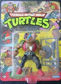 TMNT Playmater toy: Bebop