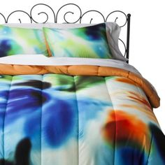 Xhilaration Watercolor Comforter Set love this comforter set!! it would be awesome for my college dorm room (: