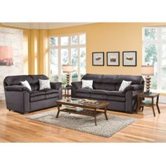 Like This ColorWoodhaven Broadway Living Room Group
