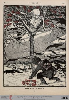 Jugend, German illustrated weekly magazine for art and life Volume 2.1, 1897.