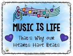 Music is Life Posters