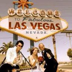 Renew my vows in Vegas with Elvis officiating the ceremony...my original wedding plan!!!
