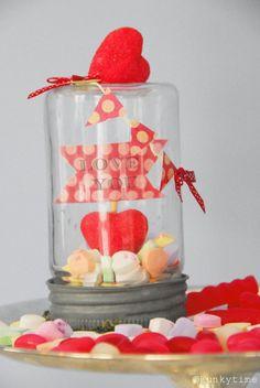 Mason Jar Valentine Idea