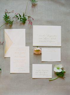 Wedding invitation suite. Photography: Carmen Santorelli Photography - carmensantorellistudio.com