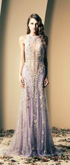 Fall-Winter Haute Couture Collection 2013-2014(04) ZIAD NAKAD_解思思 - 美丽鸟