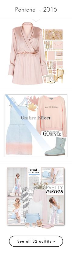 """Pantone  - 2016"" by conch-lady ❤ liked on Polyvore featuring Dolce&Gabbana, Tory Burch, Roberto Cavalli, Sugar Paper, Swarovski, Maison Margiela, Kate Spade, Luv Aj, Chloé and Charlotte Chesnais"