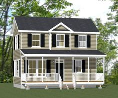 28x16-Tiny-House-2-Bedroom-813-sq-ft-PDF-Floor-Plan-Model-1D