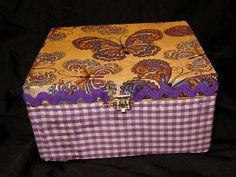 Covered cigar-box