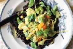Sydindisk currygryta med svart ris