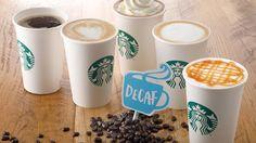 スタバに99以上カフェイン除去したディカフェ スターバックス ラテ--モカやキャラメルマキアートもカフェインレスに