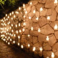 Candle Wall.  Maybe use fewer tall candles in place of the tons of tea lights.