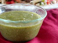 This salsa verde recipe is the second recipe I requested from the chefs while I was in Mexico. I had NO idea my post on pico de gallo and my hurt over the racism I've seen around me lately would spark such a debate, or Veggie Recipes, Mexican Food Recipes, Cooking Recipes, Healthy Recipes, Verde Sauce, Salsa Verde Recipe, Tomatillo Salsa Verde, Fast Easy Meals, Vegetable Side Dishes