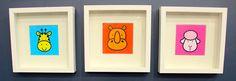 Super-cute FREE printable art for a kids room.