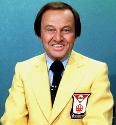 #1  Jim McKay  Born James Kenneth McManus, McKay was best known as the host of ABC's Wide World of Sports for more than 40 years. McKay was also the voice of 12 Olympic Games, including the tragedy-stricken Munich Olympics. His legendary voice could also be heard for the Indy 500 and the World Cup before he died in 2008 at 86.
