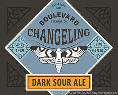 mybeerbuzz.com - Bringing Good Beers & Good People Together...: Boulevard - Changeling Dark Sour Ale