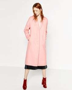Image 4 of WOOL COAT from Zara