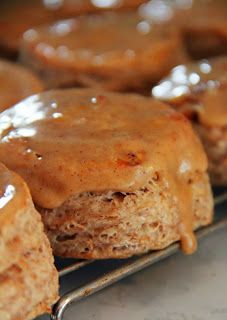 Delightful Apple Spiced Scones With Spiced Glaze Recipes — Dishmaps