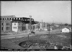 Ricoh Coliseum under construction in 1921. Back then it was known as the Civic Arena and then The Coliseum.