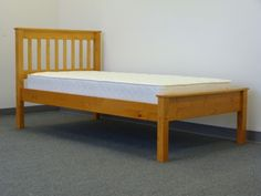 Twin Bed - Honey delivered for only $169, $169