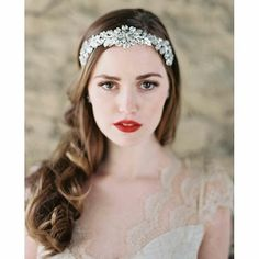 Loving  this post from @enchantedatelierbylivhart  Such a beautiful  simple look with  the  fantastic  sparkly headband  #Repost @enchantedatelierbylivhart ・・・ @enchantedatelierbylivhart for @clairepettibone Finale @swarovski headband | Photo by @laurag
